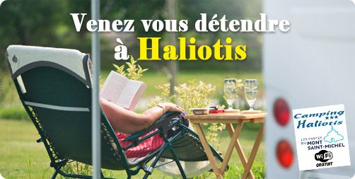 Le camping Haliotis n'attend plus que vous